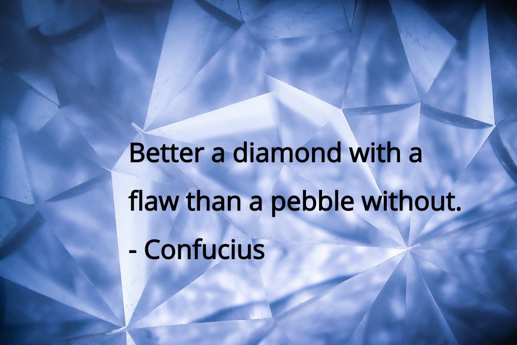 quote by confucius diamond